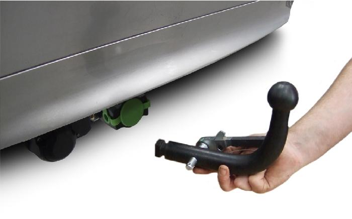 Anhängerkupplung für Chevrolet-Nubira Limousine, Baureihe 2003-  horizontal