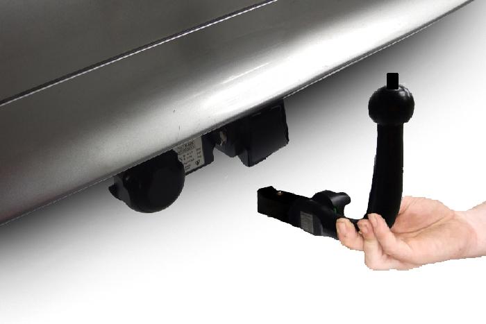 Anhängerkupplung Toyota Auris Fließheck Hybrid, nur für Heckträgerbetrieb, Baureihe 2009-2012  horizontal