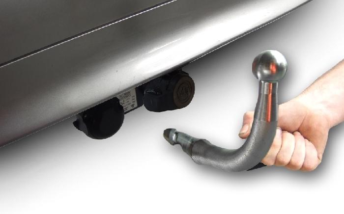 Anhängerkupplung Chevrolet-HHR incl. SS, Baureihe 2008- Ausf.:  horizontal