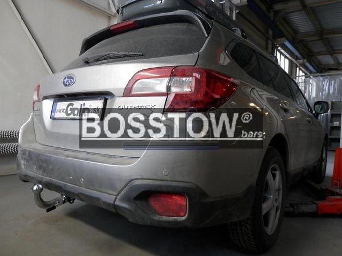 Anhängerkupplung Subaru-Outback Outback, Kombi, BS, Baureihe 2018- Ausf.:  horizontal