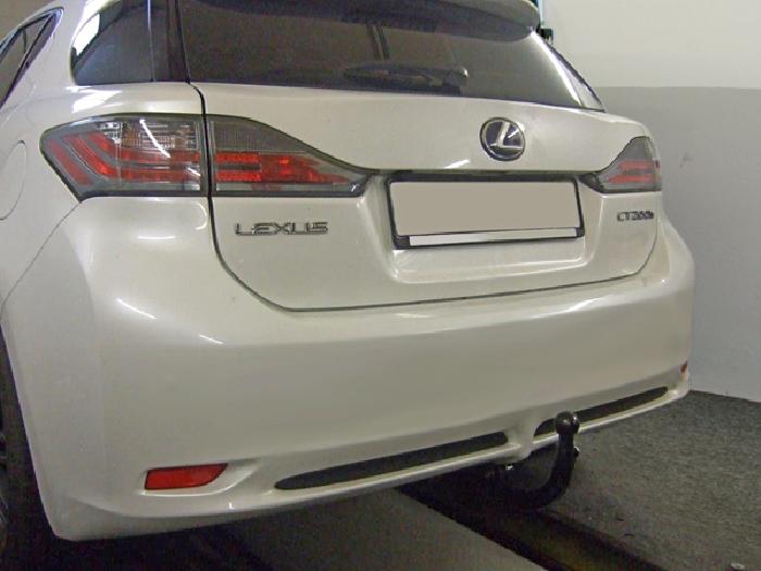 Anhängerkupplung Lexus CT 200h, nur für Heckträgerbetrieb, Baureihe 2010-  vertikal